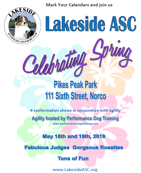 Lakes Side ASC May Event
